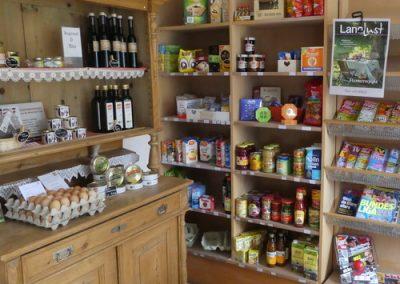 Einkauf und Gastronomie