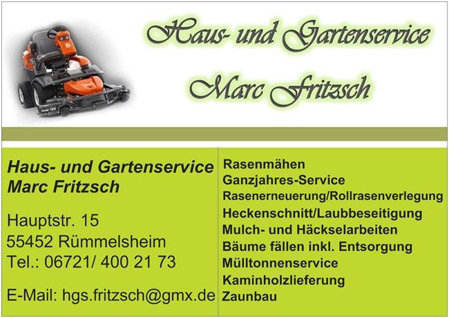 Haus- und Gartenservice Fritzsch